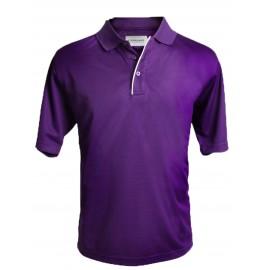 Camiseta de golf Polo Forgan Morada MXT color sólido Mediana