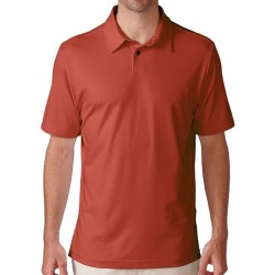 Camiseta de golf Ashworth M mediana roja flag red matte interlock