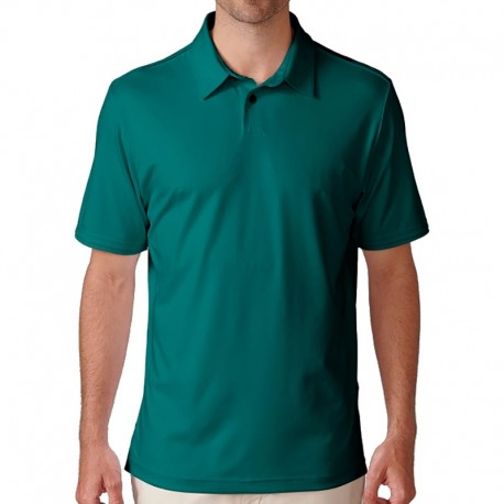 Camiseta de golf Ashworth M mediana verde mariner matte interlock