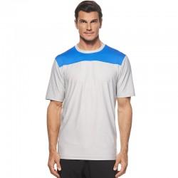 Camiseta Callaway M Mediana Blanca y Azul cuello redondo