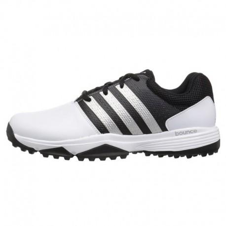 Zapatos de golf Adidas 7.5M Blancos Hombre 360 Traxion sin spikes golfco tienda de golf