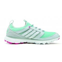 Zapatos Adidas Dama 9.5M Gris y Menta Adistar ClimaCool