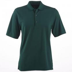 Camiseta de golf Greg Norman M mediana verde botanical Protek Micro Pique hombre Polo
