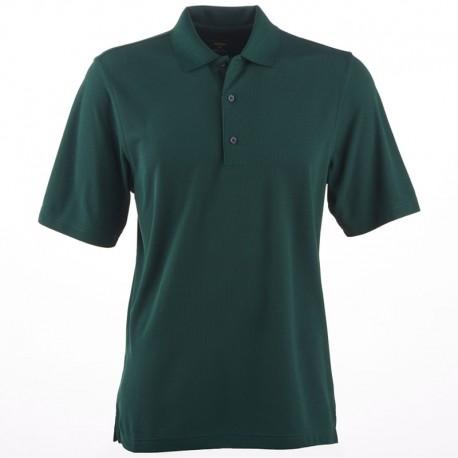 Camiseta de golf Greg Norman M mediana verde botanical Protek Micro Pique hombre Polo