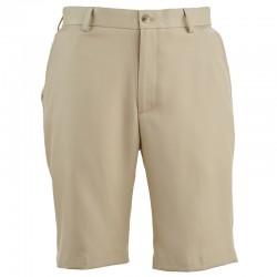 Pantalón de golf Greg Norman 30 Corto Khaki bamboo short hombre classic flat front