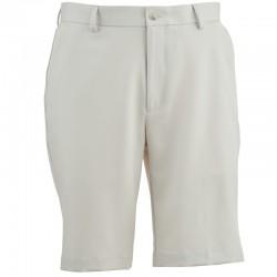 Pantalón Greg Norman 30 Corto blanco arena short hombre classic flat front