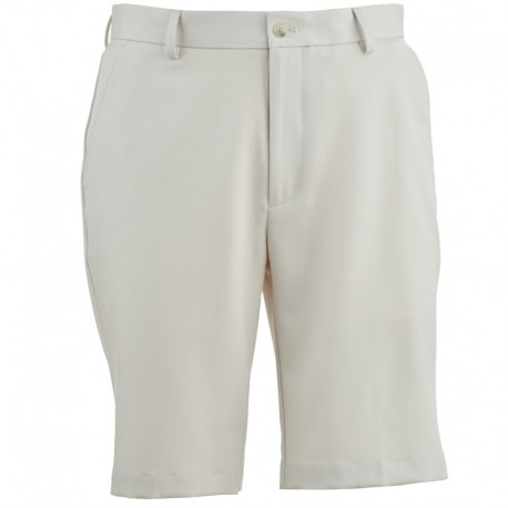 Pantalón de golf Greg Norman 30 Corto blanco arena short hombre classic flat front