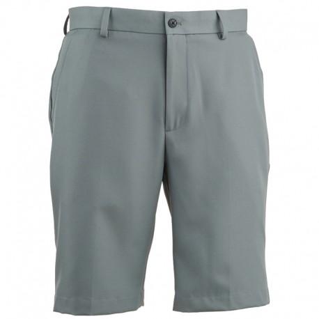 Pantalón de golf Greg Norman 30 Corto gris acero short hombre classic flat front