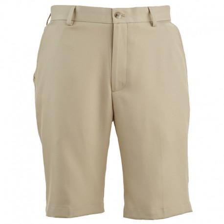Pantalón de golf Greg Norman 32 Corto Khaki bamboo short hombre classic flat front