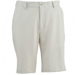 Pantalón Greg Norman 32 Corto blanco arena short hombre classic flat front