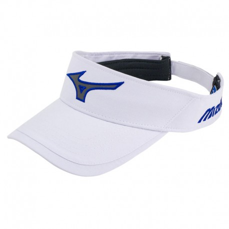 Visera de golf Mizuno blanco Runbird Tech ajustable gorra de golf