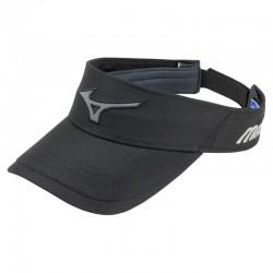 Visera de golf Mizuno negra Runbird Tech ajustable gorra de golf