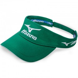 Visera de golf Mizuno verde Tour ajustable gorra de golf