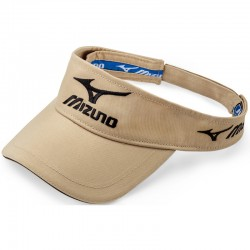 Visera de golf Mizuno Khaki Tour ajustable gorra de golf