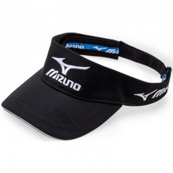 Visera de golf Mizuno negra Tour ajustable gorra de golf