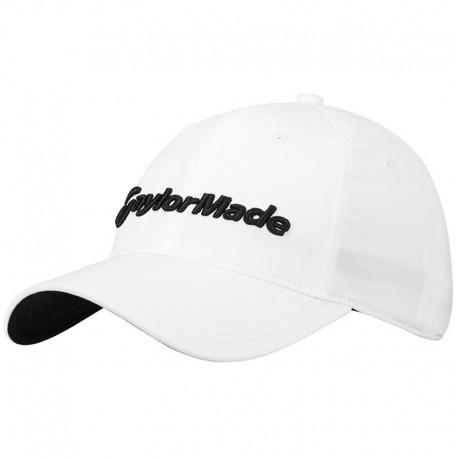 Gorra de golf TaylorMade blanca Radar ajustable