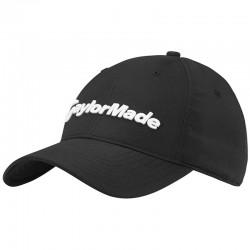 Gorra de golf TaylorMade negra Radar ajustable