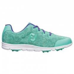 Zapatos de golf Footjoy DAMA 7.5M enJoy aguamarina