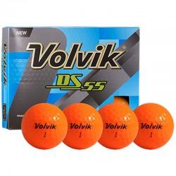 Bolas de golf Volvik DS 55 Naranja docena (12 bolas)