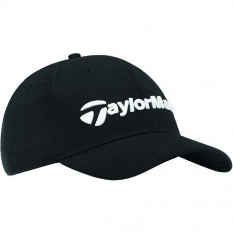 Gorra de golf TaylorMade negra performance seeker ajustable talla única