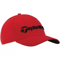 Gorra de golf TaylorMade roja performance seeker ajustable talla única