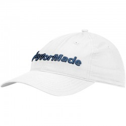 Gorra TaylorMade blanca lifestyle tradition lite ajustable talla única