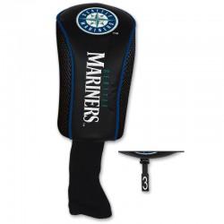 Palos de golf Cobertor Madera 3 Mariners Headcover Negro protector palos de golf