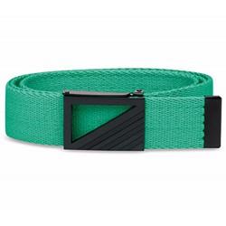 Cinturón Adidas Ajustable hasta 42 verde Webbing tipo cincha o reata