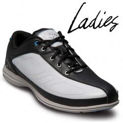 Zapatos de golf Callaway DAMA 9.5M Cirrus Blanco y Negro tienda de golf golfco