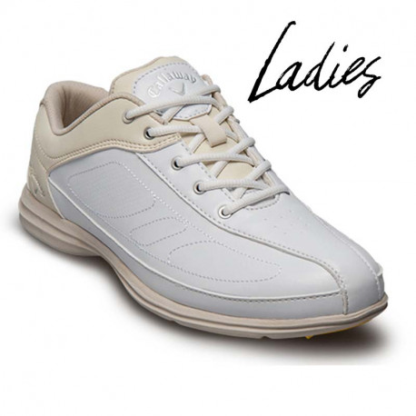 Zapatos de golf Callaway DAMA 8M Cirrus Blanco y Hueso mujer tienda de golf golfco