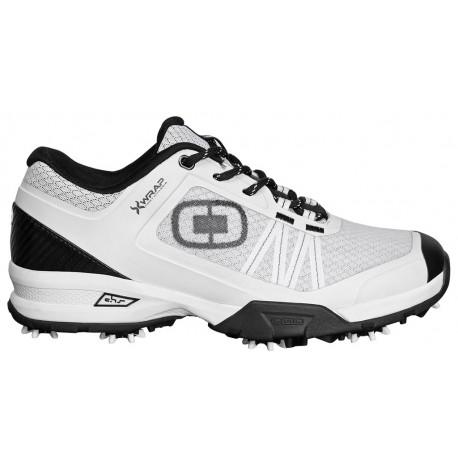 Zapatos de golf Ogio11.5M Blanco/Negro Spiked Sport Xwrap Hombre