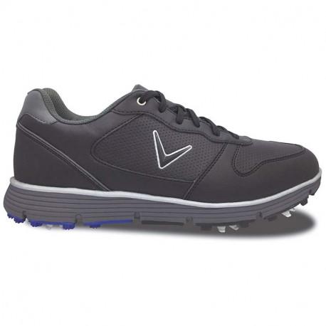 Zapatos de golf Callaway 8.5M Chev TR Negros Hombre con spikes