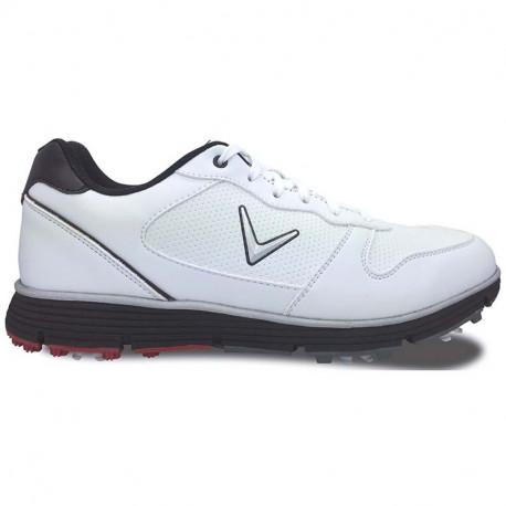 Zapatos de golf Callaway 11.5M Chev TR Blancos Hombre con spikes
