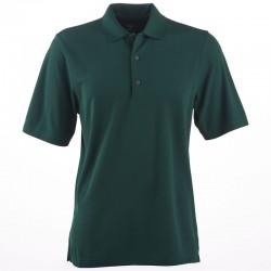 Camiseta Greg Norman S Pequeña verde botanical Protek Micro Pique hombre Polo