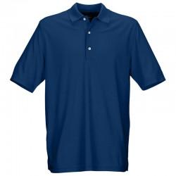Camiseta Greg Norman S Pequeña Azul Hampton Protek Micro Pique hombre Polo