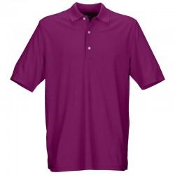 Camiseta Greg Norman S Pequeña Púrpura Lotus Protek Micro Pique hombre Polo