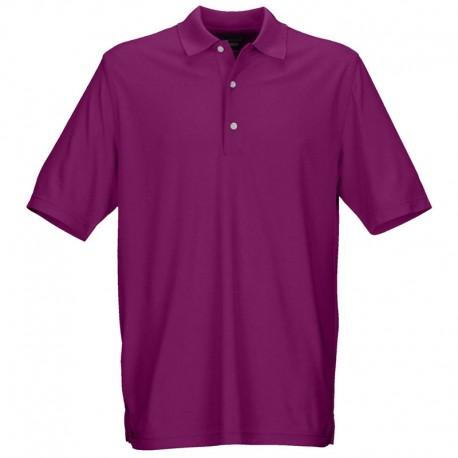 Camiseta de golf Greg Norman S Pequeña Púrpura Lotus Protek Micro Pique hombre Polo