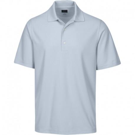 Camiseta de golf Greg Norman S Pequeña Gris Mist Protek Micro Pique hombre Polo