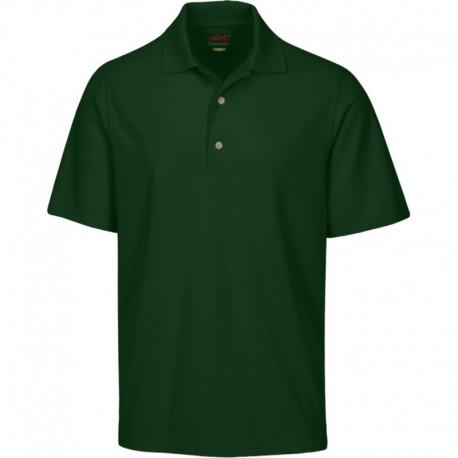 Camiseta de golf Greg Norman S Pequeña Verde Palma Protek Micro Pique hombre Polo