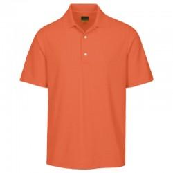 Camiseta Greg Norman M Mediana Naranja Nectar Protek Micro Pique hombre Polo