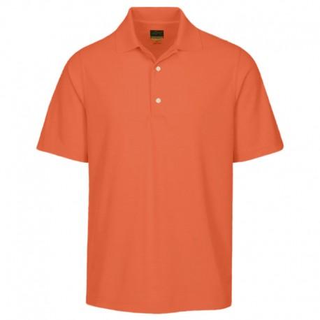 Camiseta de golf Greg Norman L Grande Naranja Nectar Protek Micro Pique hombre Polo