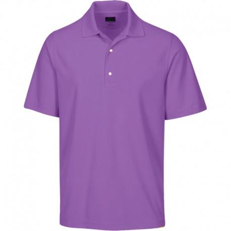 Camiseta de golf Greg Norman S Pequeña Morada Light Orchid Protek Micro Pique hombre Polo