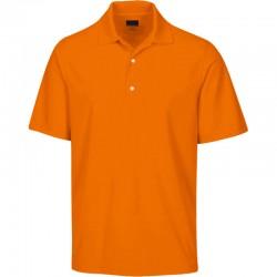 Camiseta Greg Norman 2XL doble extra grande Naranja Mandarina Protek Micro Pique hombre Polo