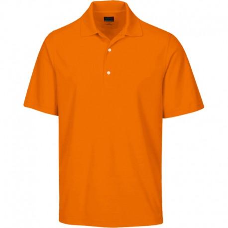 Camiseta de golf Greg Norman 2XL Pequeña Naranja Mandarina Protek Micro Pique hombre Polo