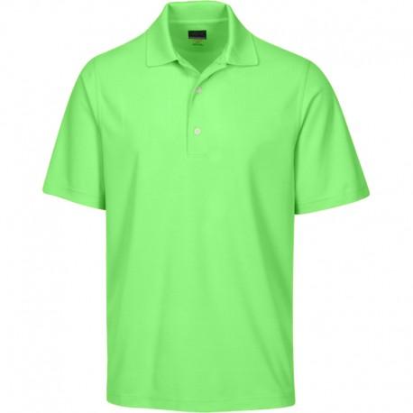 Camiseta de golf Greg Norman S Pequeña Verde Isla Protek Micro Pique hombre Polo