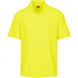 Camiseta de golf Greg Norman 2XL Amarilla Citron Protek Micro Pique hombre Polo