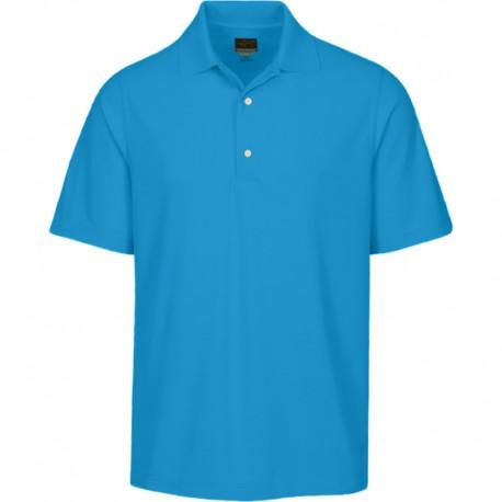 Camiseta de golf Greg Norman S Pequeña Azul Aguamarina Protek Micro Pique hombre Polo