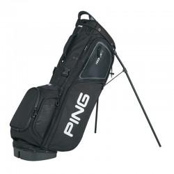 Talega de golf Ping Hoofer 14 negra Cargar y Patitas