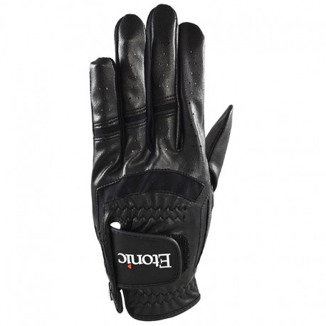 Guante de golf Etonic 2XL Negro Stabilizer F1T Sport Cabretta y sintético