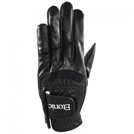 Guante de golf Etonic C2XL Pequeño Negro Stabilizer F1T Sport Cabretta y sintético
